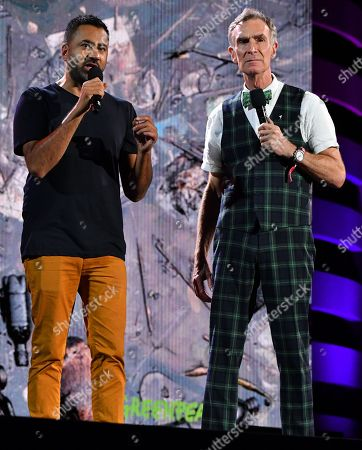 Kal Penn and Bill Nye