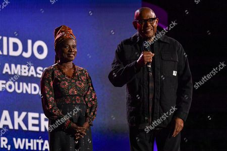 Angelique Kidjo, Forest Whitaker