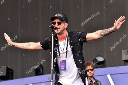 Ryan Tedder from the band OneRepublic performs at the 2019 Global Citizen Festival in Central Park, in New York