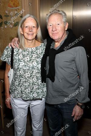 Stock Photo of Israel Horovitz with wife