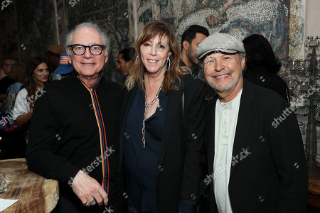 Barry Levinson, Jane Rosenthal, Billy Crystal