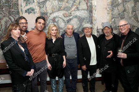 Stock Photo of Jane Rosenthal, Ray Romano, Bobby Cannavale, Anna Paquin, Robert De Niro, Billy Crystal, Al Pacino, Barry Levinson