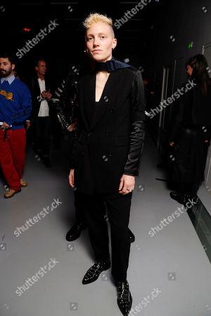 Editorial picture of Yang Li show, Runway, Spring Summer 2020, Paris Fashion Week, France - 27 Sep 2019