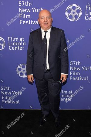 "Agustin Almodovar attends the premiere of ""Pain and Glory"" at Alice Tully Hall during the 57th New York Film Festival, in New York"