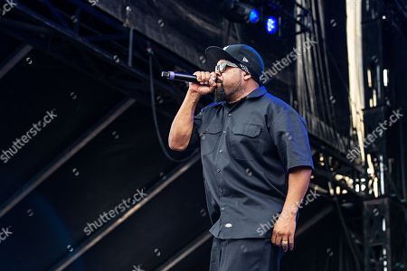 Ice Cube, also known as O'Shea Jackson, performs during Louder Than Life at Highland Festival Grounds at KY Expo Center, in Louisville, Ky