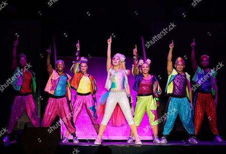 Editorial image of JoJo Siwa in concert at the HEB Center, Austin, USA - 18 Sep 2019