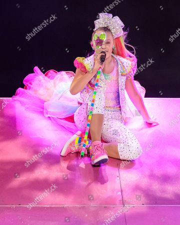 Editorial photo of JoJo Siwa in concert at the HEB Center, Austin, USA - 18 Sep 2019