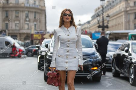 Editorial picture of Street Style, Spring Summer 2020, Paris Fashion Week, France - 27 Sep 2019