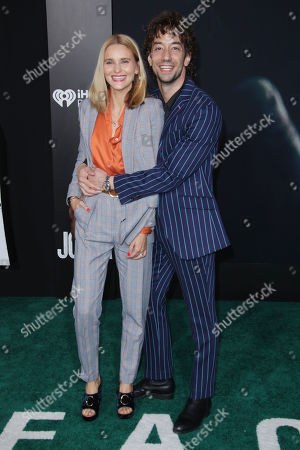Albert Hammond Jr. and wife