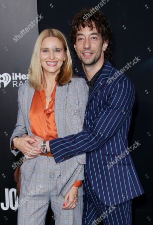 Stock Photo of Albert Hammond Jr. and wife