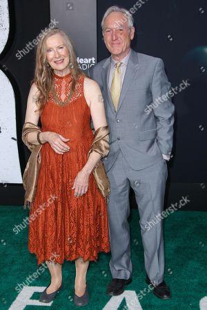 Frances Conroy and husband