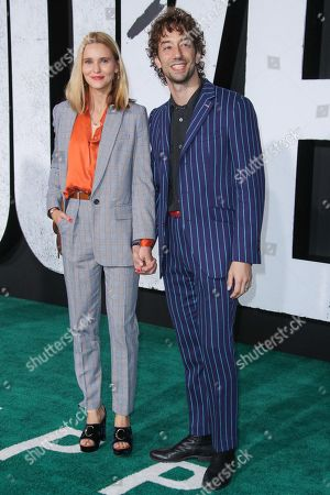 Albert Hammond Jr and wife