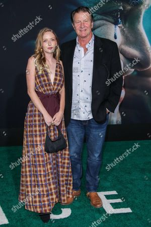 Stock Picture of Brett Cullen and daughter