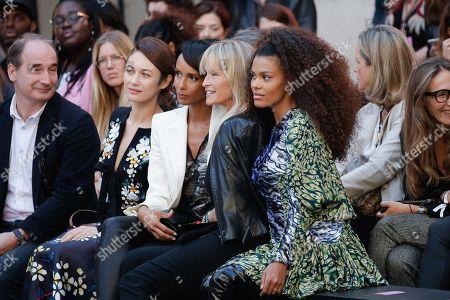 Olga Kurylenko, Sonia Rolland, Estelle Lefebure and Tina Kunakey di Vita