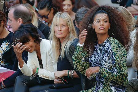 Sonia Rolland, Estelle Lefebure and Tina Kunakey di Vita