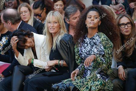 Stock Picture of Sonia Rolland, Estelle Lefebure and Tina Kunakey di Vita