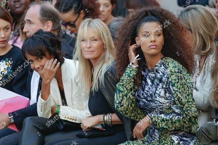 Editorial picture of L'Oreal Paris show, Front Row, Spring Summer 2020, Paris Fashion Week, France - 28 Sep 2019