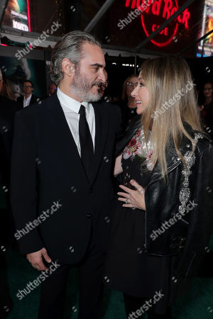 Joaquin Phoenix, Blair Rich, President, Worldwide Marketing, Warner Bros. Pictures Group and Warner Bros. Home Entertainment,