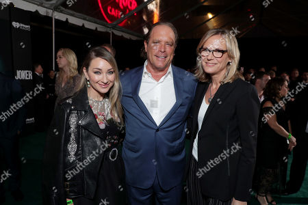 Blair Rich, President, Worldwide Marketing, Warner Bros. Pictures Group and Warner Bros. Home Entertainment, Steve Mosko, Chief Executive Officer, Village Roadshow Entertainment Group, Ann Sarnoff, Chair and CEO of Warner Bros.,