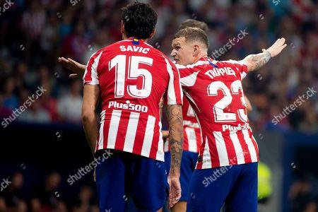 Editorial photo of Atletico Madrid v Real Madrid, La Liga, Football, Wanda Metropolitano Stadium, Madrid Spain - 28 Sep 2019