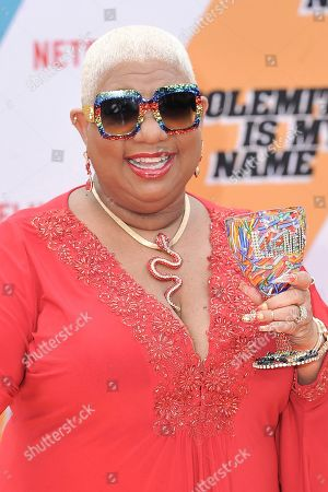 """Luenell attends the LA premiere of """"Dolemite is My Name"""" at the Regency Village Theatre, in Los Angeles"""
