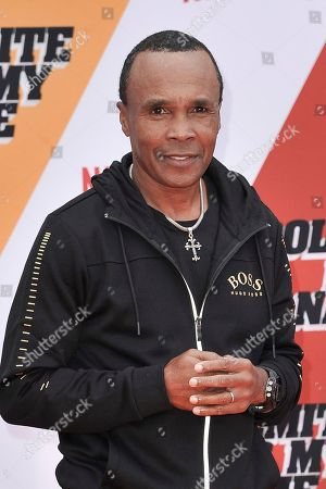 """Sugar Ray Leonard attends the LA premiere of """"Dolemite is My Name"""" at the Regency Village Theatre, in Los Angeles"""