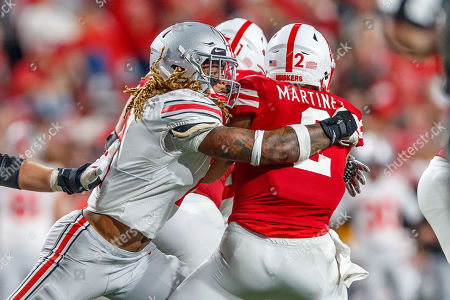 Editorial picture of NCAA Football Ohio State vs Nebraska, Lincoln, USA - 28 Sep 2019