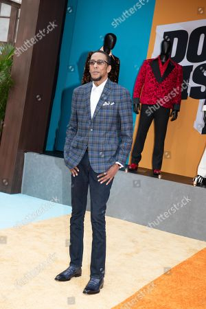 Ron Cephas Jones poses on the red carpet during the premiere of the Netflix film Dolemite Is My Name at the Regency Village Theatre in Los Angeles, California, USA, 28 September 2019.
