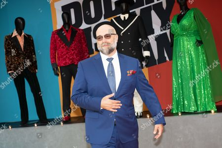 Craig Brewer poses on the red carpet during the premiere of the Netflix film Dolemite Is My Name at the Regency Village Theatre in Los Angeles, California, USA, 28 September 2019.