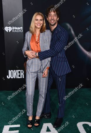 "Justyna Sroka, Albert Hammond Jr. Justyna Sroka and Albert Hammond Jr. arrive at the Los Angeles premiere of ""Joker"" at TCL Chinese Theatre on"