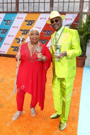 Luenell and Don 'Magic' Juan
