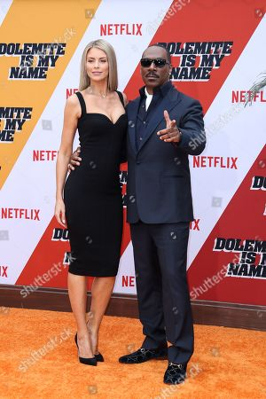 Paige Butcher and Eddie Murphy