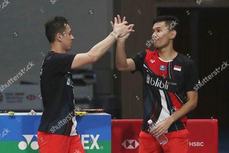 Editorial photo of Korea Open Badminton, Incheon, South Korea - 29 Sep 2019