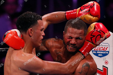Editorial picture of David Benavidez vs Anthony Dirrell, Los Angeles, USA - 28 Sep 2019