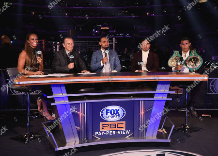Kate Abdo, Ray Mancini, Danny Garcia, Keith Thurman, David Benavidez