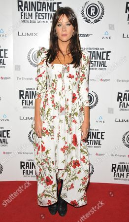 Editorial picture of 'Hurt By Paradise' UK film premiere, Arrivals, Raindance Film Festival, London, UK - 28 Sep 2019