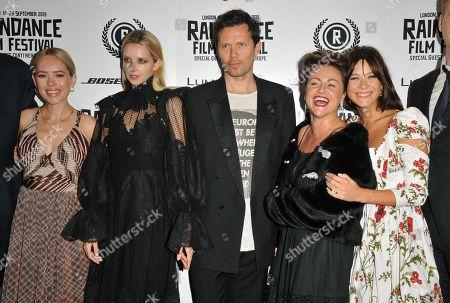 Stock Image of Tanya Burr, Greta Bellamacina, Robert Montgomery, Jaime Winstone and Jazzy de Lisser