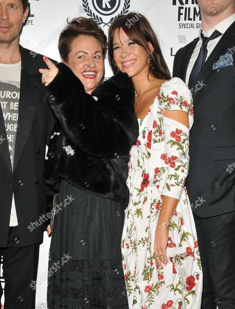 Stock Picture of Jaime Winstone and Jazzy de Lisser