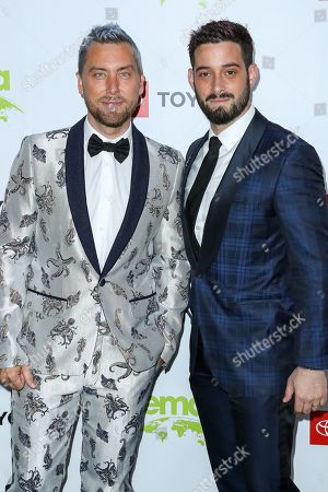 Stock Picture of Lance Bass and Michael Turchin