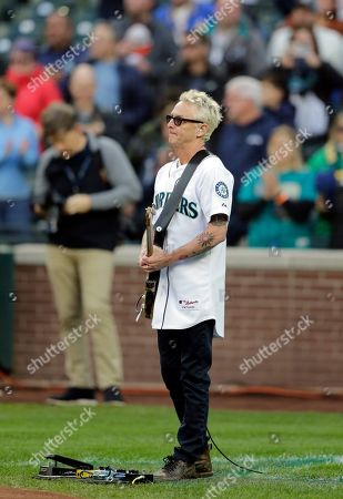 Editorial picture of Athletics Mariners Baseball, Seattle, USA - 28 Sep 2019