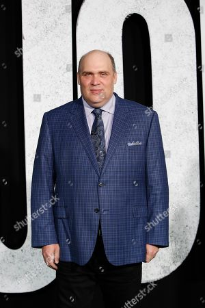 Glenn Fleshler arrives for the premiere of Joker at the TCL Chinese Theatre IMAX in Hollywood, Los Angeles, USA, 28 September 2019.