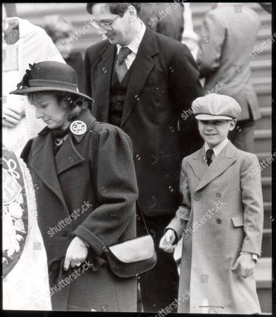 Alexander Earl Of Ulster The Royal Family Attend St Georges Chapel At Windsor Castle On Christmas Day Morning. Dashing: Earl Of Ulster ...royalty