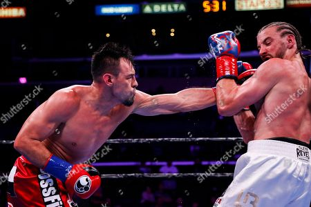 Editorial image of Guerrero Thomas Boxing, Los Angeles, USA - 28 Sep 2019