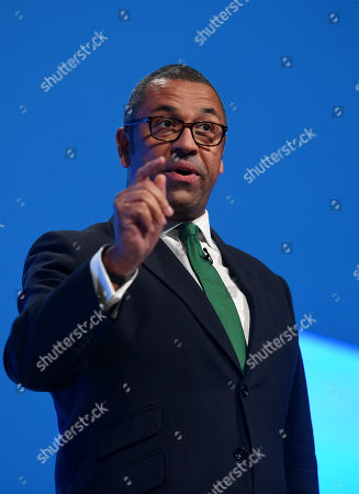 James Cleverly, Conservative Party Chairman, speech to delegates.