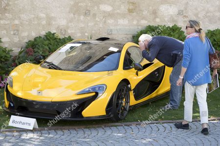 Editorial image of OBIANG SUPERCAR SALE, Cheserex, Switzerland - 29 Sep 2019