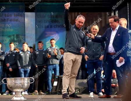 Editorial picture of GAA All-Ireland Senior Football Champions & Ladies Senior Football Champions Dublin Double Homecoming, Merrion Sqaure, Co. Dublin  - 29 Sep 2019
