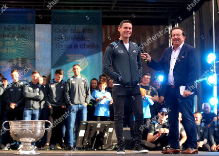 Stephen Cluxton and Marty Morrissey