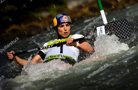 Stock Picture of Australian Jessica Fox in action during the C1 Slalom race of the 2019 ICF Canoe World Championships, in La Seu d'Urgell, Spain, 29 September 2019. Fox won silver.