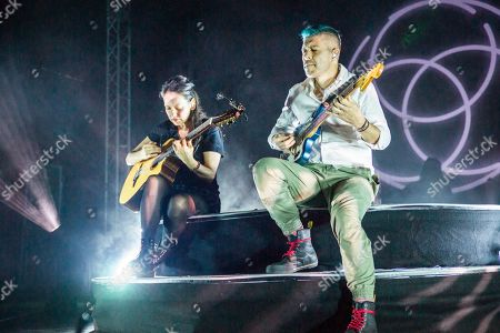 Editorial picture of Rodrigo y Gabriela in concert at the 02 Academy, Leeds, UK - 28 Sep 2019