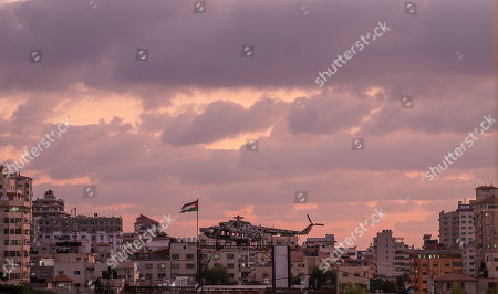 Editorial photo of Arafat helicopter on structure in Gaza, Gaza City, --- - 29 Sep 2019